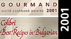 Gourmand - World cookbook awards 2001
