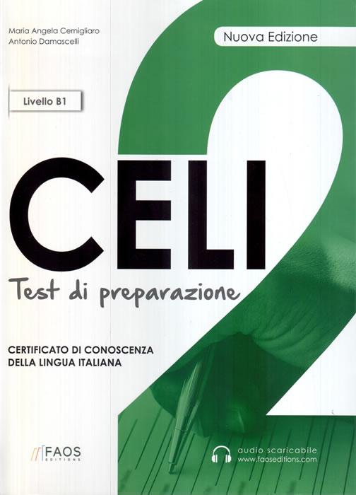 CELI 2, тестове по италиански език за сертификат CELI, ниво B1