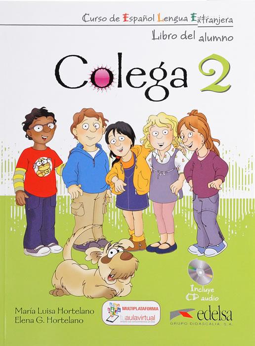 Colega 2, учебник, ниво A1.2 + CD