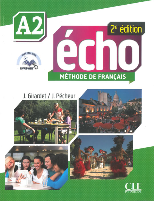Écho, учебник по френски език, ниво А2 + DVD
