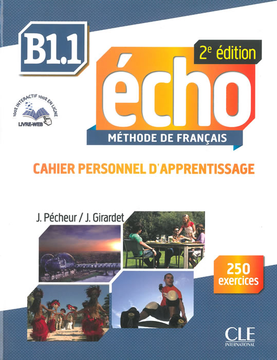 Echo - Niveau B1.1 - Cahier d'apprentissage + CD