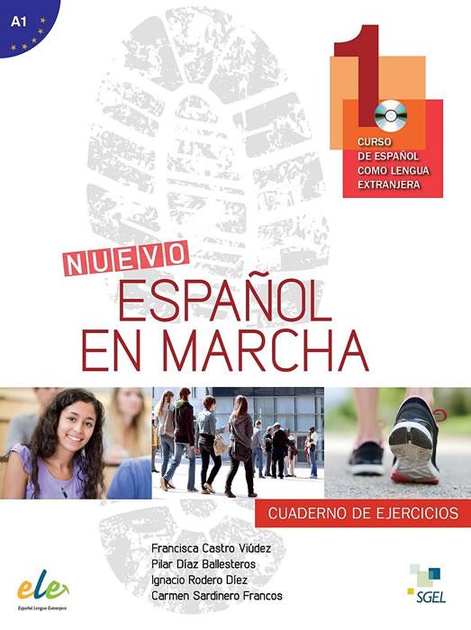 Nuevo Español en marcha 1, учебна тетрадка по испански език, ниво А1 + CD