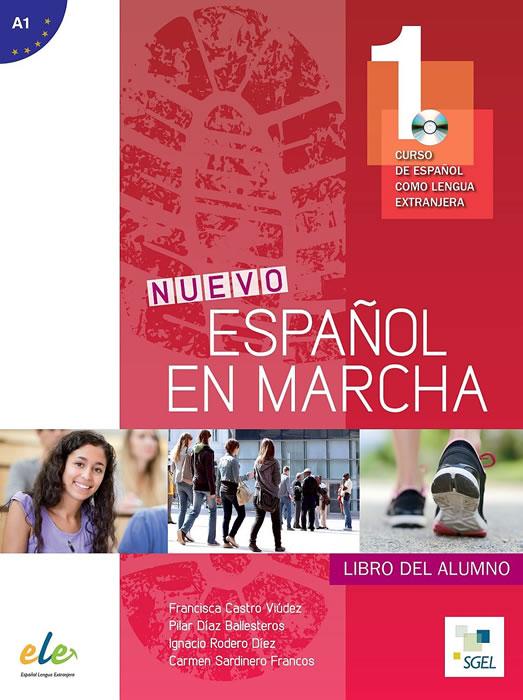 Nuevo Español en marcha 1, учебник по испански език, ниво А1 + CD