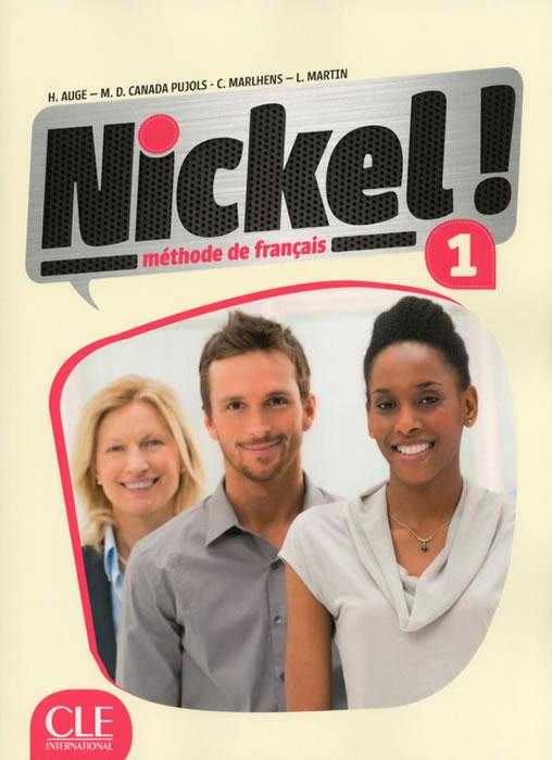 Nickel! 1, учебник по френски език, ниво А1 + DVD