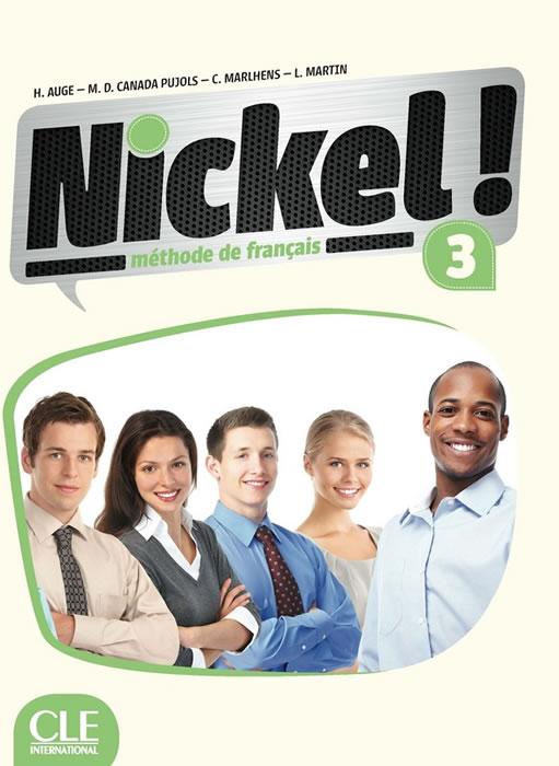 Nickel! 3, учебник по френски език, ниво B1 + DVD