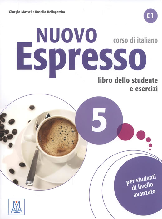 Nuovo Espresso 5, учебен комплект по италиански език, ниво C1 + CD