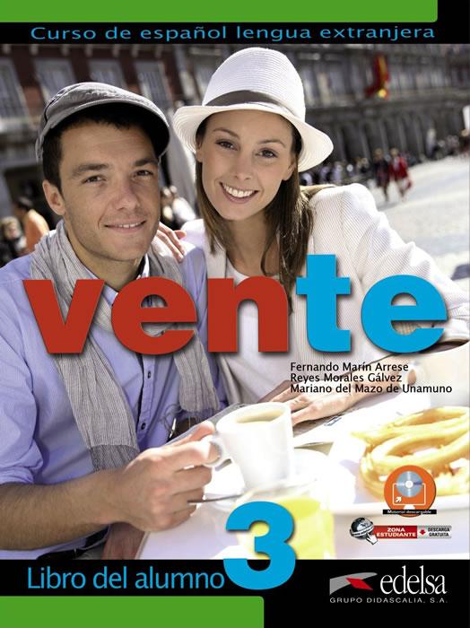 Vente 3, учебник по испански език, ниво B2 + CD