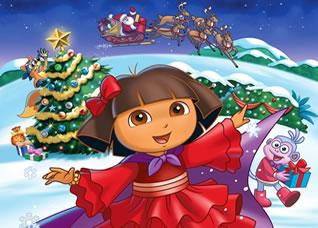 Kоледна фиеста с Дора и приятели!