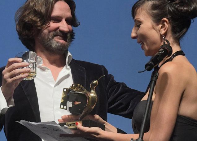 Фредерик Бегбеде благодари на български за наградата CineLibri