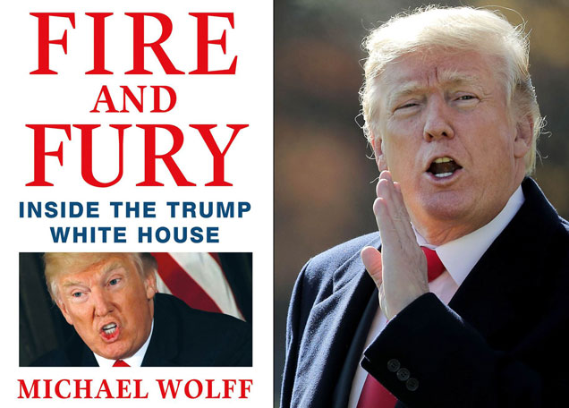 """Колибри"" издава ""Fire and Fury: Inside the Trump White House"""