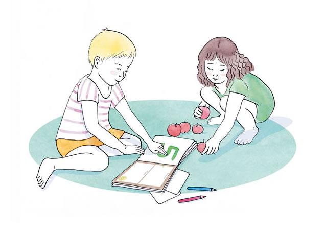 Научете децата да разпознават цифри и числа по уникалния метод Монтесори