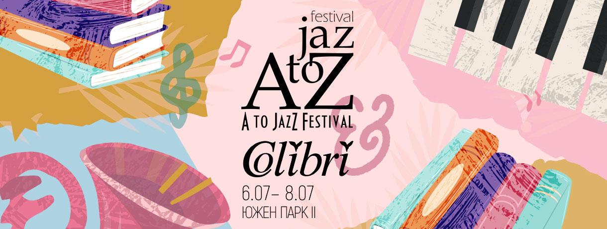 Издателство Колибри на A to Jazz Festival